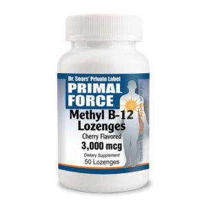 Vitamin B12 Lozenges, All Natural Supplement