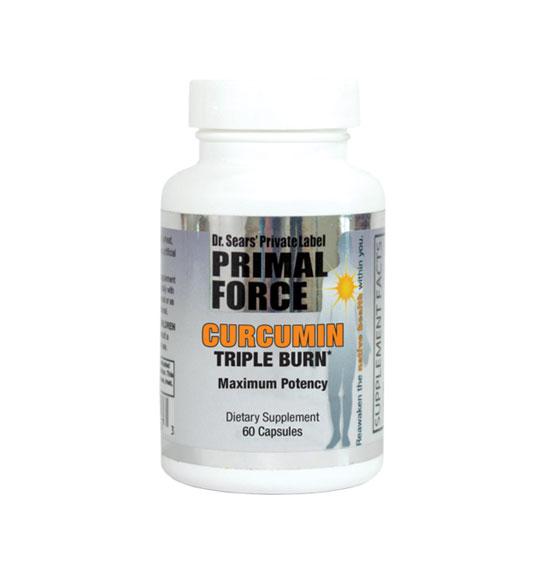 Curcumin Triple Burn, All Natural Dietary Supplement