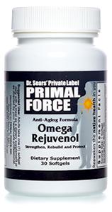 Omega Rejuvenol bottle