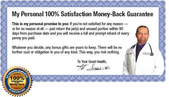 100% satisfaction money-back guarantee