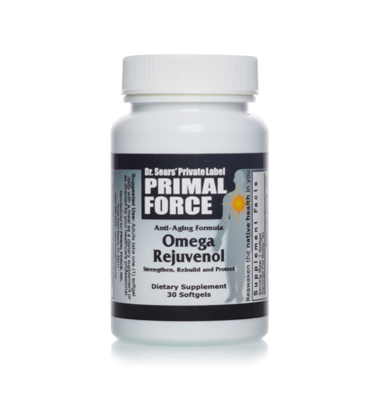 Omega Rejuvenol, All Natural Dietary Supplement