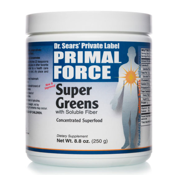 Super Greens, All Natural Dietary Supplement