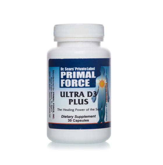 Ultra D3 Plus, All Natural Dietary Supplement
